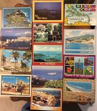 Lot of 15 - Postcards - St. Thomas / Virgin Islands / Puerto Rico