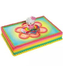 NEW, NEW, NEW, HELLO KITTY Cake Kit  (LIGHT UP), Same As Kroger / Wal-Mart.