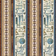 Craftsman Tools Decorative Stripe Hammer Blade Brown Cotton Fabric Fat Quarter