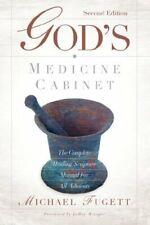 God's Medicine Cabinet Second Edition, Fugett 9781597813464 Free Shipping-,
