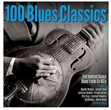 100 Blues Classics 4 CD Set Muddy Waters Howlin' Wolf John Lee Hooker More