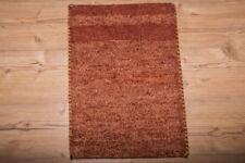 Alfombras de color principal rojo para pasillos, 100% lana de gabbeh