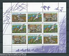 RUSSIE - CANARDS - 1992 MI 254 à 256 - FEUILLET NEUF** LUXE