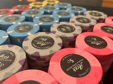 More details for 500 x micro stakes cash ceramic poker chips