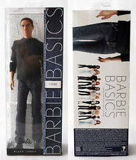 RARE BARBIE BASICS 17-002 KEN AFRO AMERICAN MALE MAN DOLL BLACK LABEL NEW MISB !