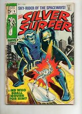 Silver Surfer #5, 8 Early STRANGER, 1ST GHOST! MEPHISTO, FANTASTIC FOUR APP 1969