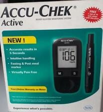 Accu Chek Active Blood Glucose Monitoring Meter With 50 Free Strip Free Ship