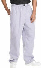 Chef Chefs Trousers - small navy and white checks - sizes Medium and Large