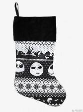 "Nightmare Before Christmas Jack Skellington 18"" Deluxe Christmas Stocking"