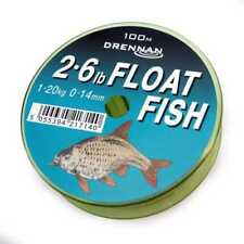Drennan Float Fish Monofil Fishing Line 100m Version - All Sizes Available 5lb 0.20mm