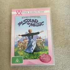 PINK RIBBON DAY. THE SOUND OF MUSIC DVD.