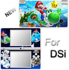 Super Mario Galaxy 2 NEW SKIN STICKER for NINTENDO DSi
