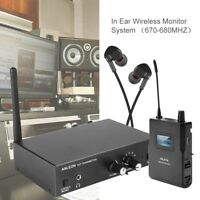 ANLEON S2 Wireless UHF In-ear Monitor System Stereo IEM Stage Monitoring System