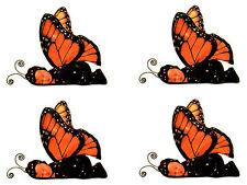 Anne Geddes Baby Scrapbook Stickers! Monarch Butterfly Set of 4!