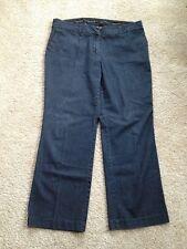 Women's Pierre Cardin Size 16W Dark Denim Jeans