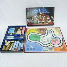 MBGames Hotel Board Game - Vintage Family Game 8+  Item No. 4007 GB Edition