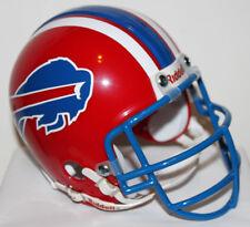 JIm Kelly Buffalo Bills Riddell Custom Mini Helmet w/ Metal Face Mask