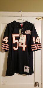 100% Authentic Brian Urlacher Mitchell & Ness 2001 Bears Jersey Size 48 XL New
