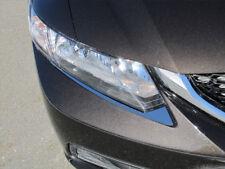For 2012-2015 HONDA CIVIC 4-door 2 PC SS Head Light Accent Trim