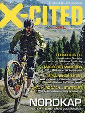 Fahrradmagazin X-Cited 2/16 2016 Nordkap Giant TCR Rennrad Pyrenäen Flyer EMTB
