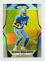 2017 Panini Prizm Kenny Golladay SILVER Prizm RC, Lions Star Rookie!