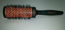 "Modena oval ceramic & ionic barrel professional styling brush 2-1/2"" wide"