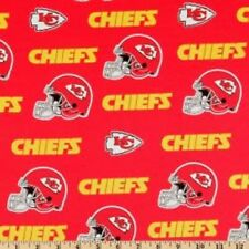 MadieBs Custom NFL KC Chiefs Red Cotton Fitted Boutique Crib Sheet