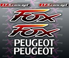 Peugeot FOX Multicoloured Sticker/Decal Set  autocollant pug Aufkleber