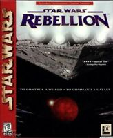 STAR WARS REBELLION PC GAME +1Clk Windows 10 8 7 Vista XP Install