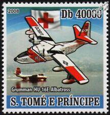 US Coast Guard GRUMMAN ALBATROSS HU-16E Flying Boat Seaplane Aircraft Stamp