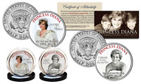 PRINCESS DIANA 20th Anniversary KENNEDY Half Dollar 2-Coin Set - Wedding Edition