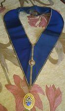 vintage masonic collar