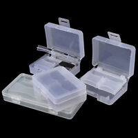 Universal Memory Card Case TF/Camera Card Cases Plastic Sealed Protective  №q