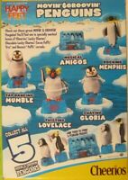 General Mills Cereal 2006 Happy Feet Movin' & Groovin' Penguins