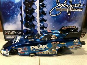 2016 Action John Force PEAK Funny Car 1/24 Color Chrome 1 of 150