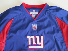 Vintage 90's Reebok NFL New York Giants Nylon Pull Over Wind Breaker Jacket XXL