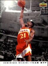 1992-93 Upper Deck Basketball Team MVPs #TM2 Dominique Wilkins
