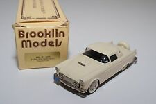 -- BROOKLIN BRK 13 1956 FORD THUNDERBIRD HARDTOP CREAM MINT BOXED RARE SELTEN