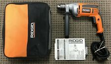 "Ridgid R7111 8 Amp 1/2"" Chuck VSR Heavy Duty Variable Speed Corded Drill Driver"