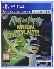 Rick and Morty Virtual Rick-Ality PS4 Game PS VR Sony PlayStation 4