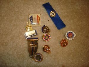 Collection of Fraternity Pins