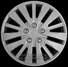 "16"" Set of 4 Wheel Covers Full Rim Snap On Hub Caps fits R16 Tire & Steel Wheels"