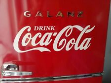 Coca-Cola decal sticker 15inch WHITE coke *easily applied*  Buy 2, Get 3rd FREE