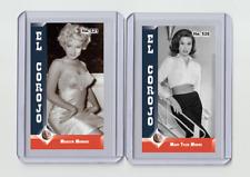 Mary Tyler Moore rare MH El Corojo #'d 3/3 Tobacco card no. 526