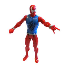 "Marvel Comics SPIDERMAN SCARLET SPIDER 10"" toy action figure NICE!"