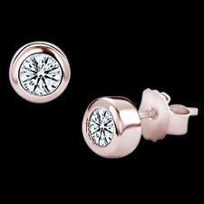 Stud Rose Gold 14k Fine Earrings