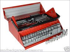 "Teng Tools 187 Piece 1/4"",3/8"" & 1/2""dr Mega Rosso Tool Kit TC187"