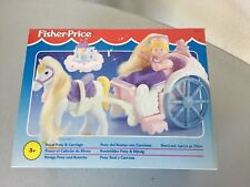 1995#Fisher Price Once Upon a Dream Royal Pony & Carriage#NIB RARE