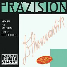 Thomastik Precision Steel 4/4 Size Violin Strings 4/4 Set