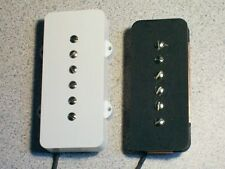 New P-90 style single coil pickups for Jazzmaster electric guitar - Pete Biltoft